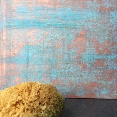 декоративная медь, краска под медь, медная краска #novacolor #медь #окись