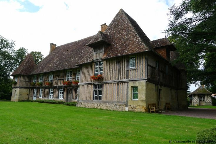 manoir normanfs   Belles demeures en Pays d'Auge - Cassonade et Camembert