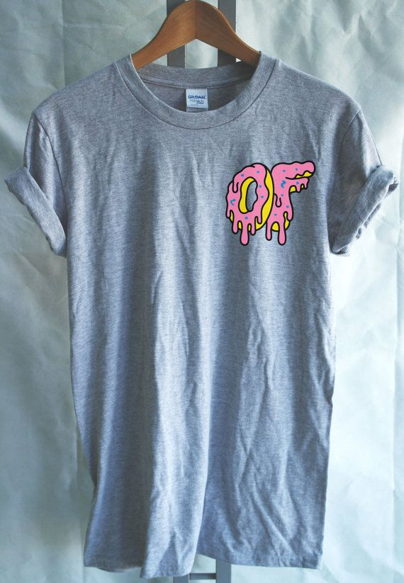 Odd Future Dripping Breast Logo Donut Tshirt Mens by DoughnutTees