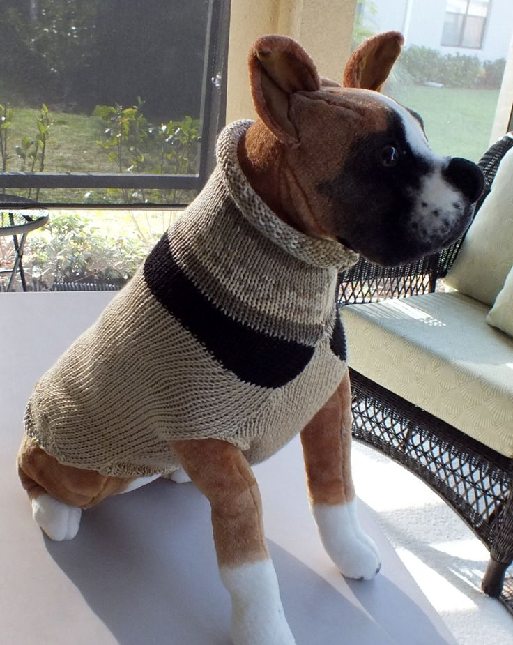 "Dog Sweater SALE Butch 22"" inches long"