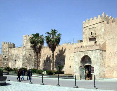 Sfax, entrée de la Médina (Tunisie)