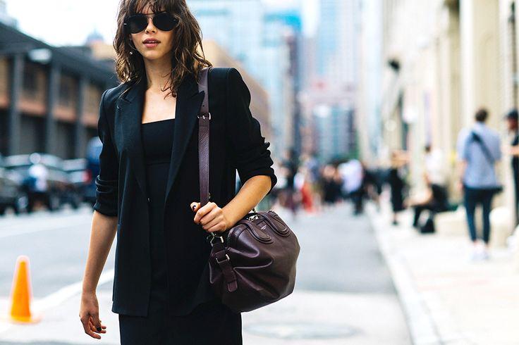 Неделя мужской моды в Нью-Йорке: лучшие женские образы на стритстайл-фото | Vogue | Мода | STREETSTYLE | VOGUE