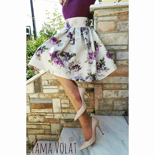 Floral mood Fama Volat #fall #winter #2017-18 #new #collection #coming #soon #handmade #clothes