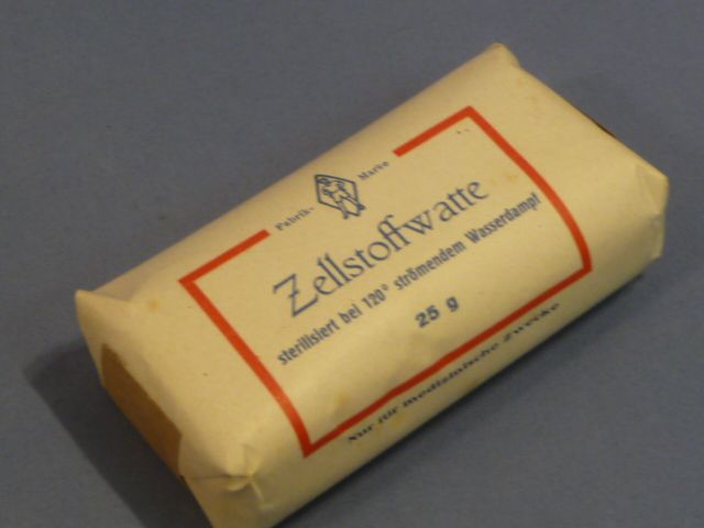 Original WWII Era German Cellulose Cotton Bandage
