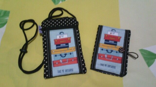 Passport pouch and case. ♥