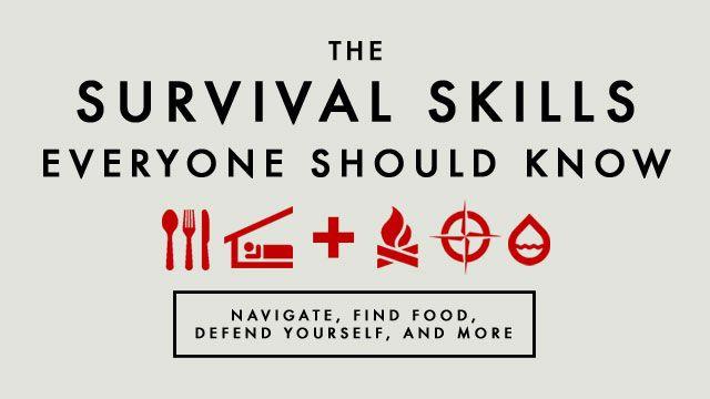 basic survival skills