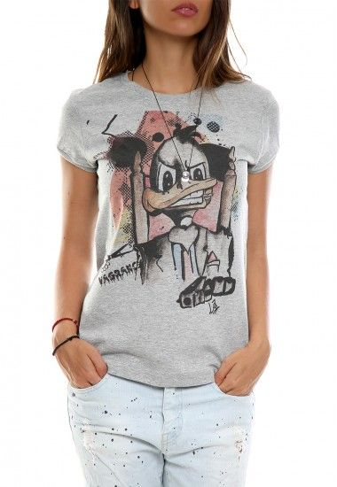 mob duck gray #vagrancylifestyle #handmade #tshirt #woman