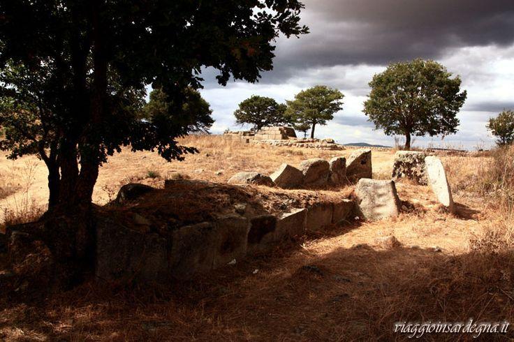 fonni, tomba di giganti madau A