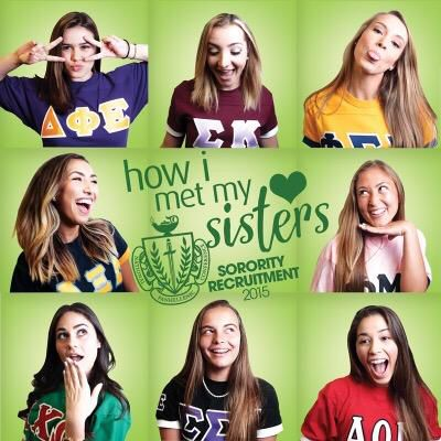 How I met my sisters! Panhellenic recruitment
