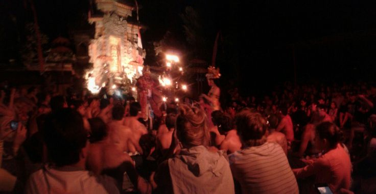 Kecak dance, Ubud -August 2013