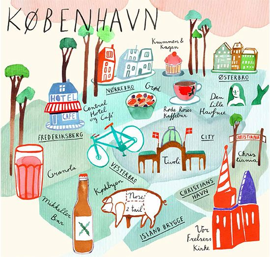 à la verdenius: out today! copenhagen cityguide for jamie magazine