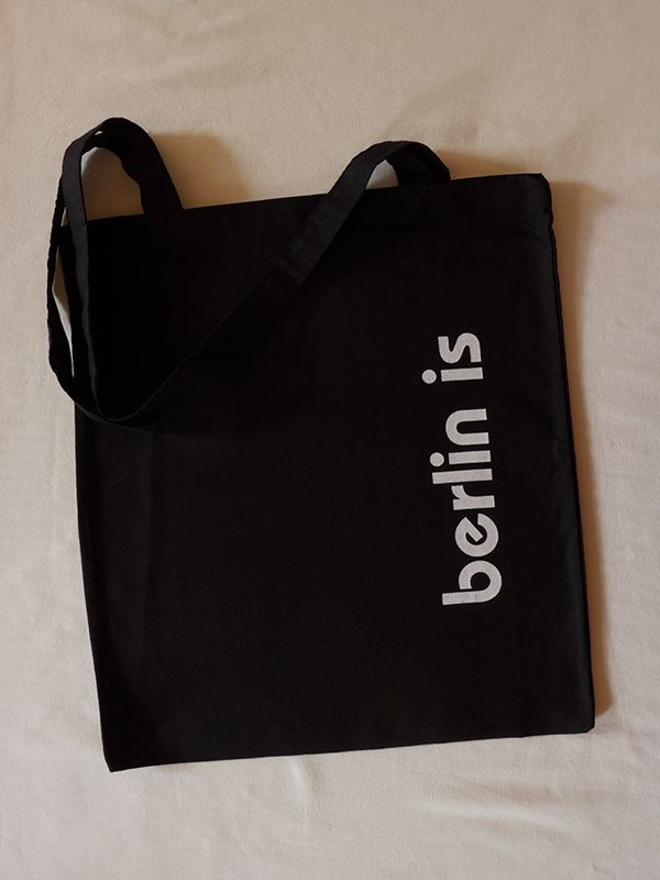 'Berlin Is' Cotton Tote via Tribe of E. Click on the image to see more!