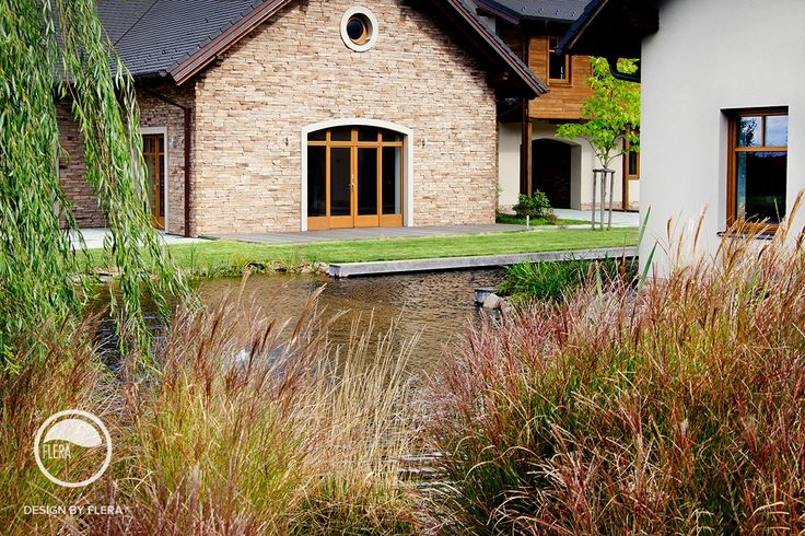 #landcape #architecture #garden #path #water #feature #pond #lawn #trees