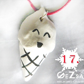 Ice-cream necklace for dec. 17. by GéZsa