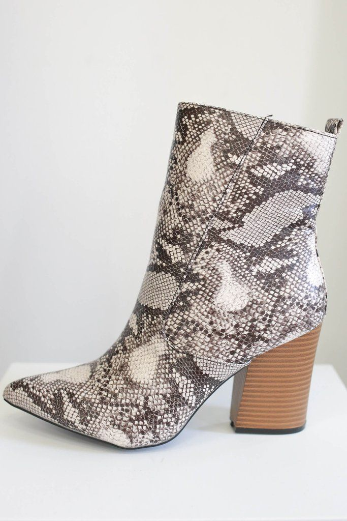 20e2737facc Animal Print Booties - UOIOnline.com | SHOES ALWAYS FIT in 2019 ...