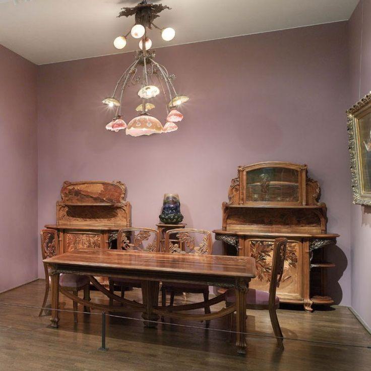 22 best mobilier art nouveau images on pinterest art nouveau furniture art deco art and art. Black Bedroom Furniture Sets. Home Design Ideas