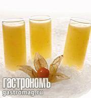 Рецепт гаспачо из дыни и физалиса