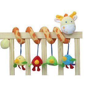 Giraffe Baby Crib Toy From Crib Critters