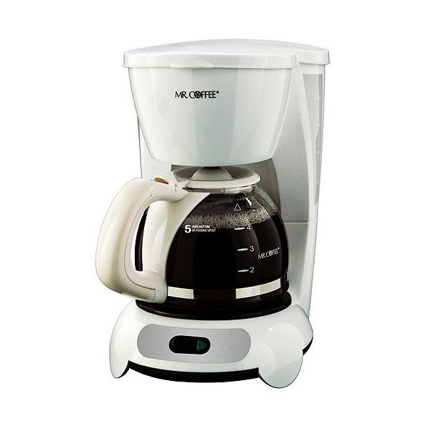 Mr. Coffee Coffee Maker, 5-Cup ❤ liked on Polyvore featuring home, kitchen & dining and mr. coffee