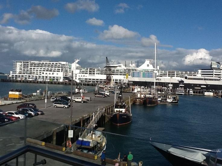 Auckland Harbour, NZ