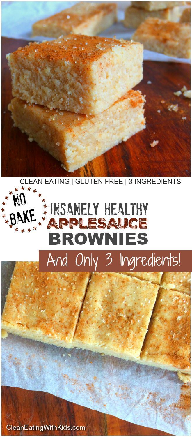 No Bake Apple Brownies are amazing!! They taste like healthy, no guilt cheesecake.