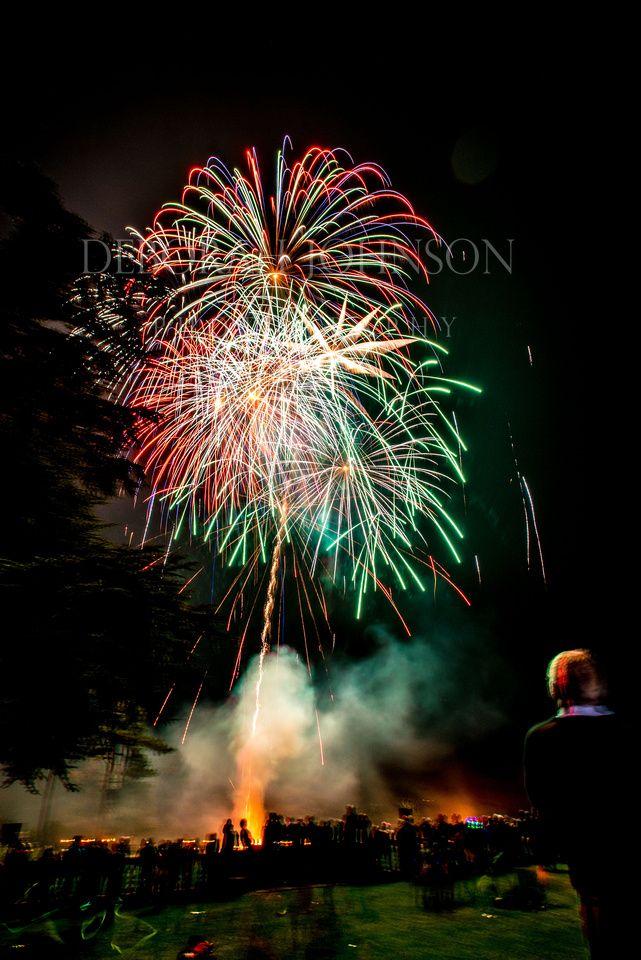 Firework photograph by Deborah Johnson