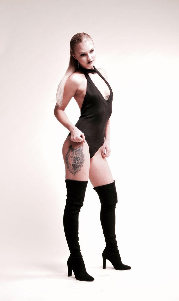 "Black ""body""/ onepiece swimsuit"