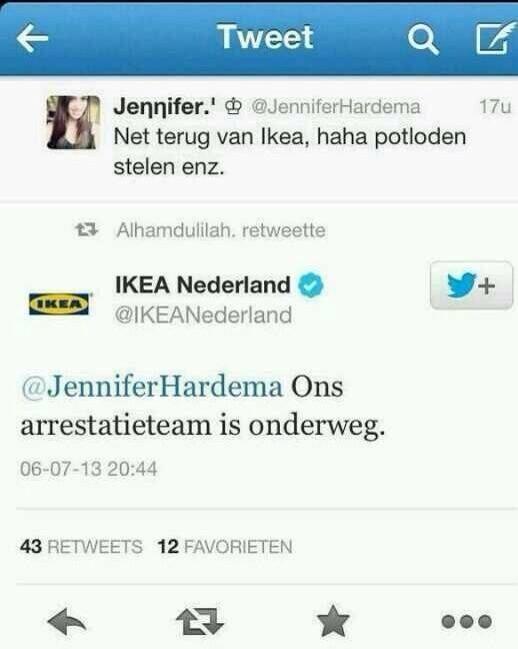 #Ikea #webcare