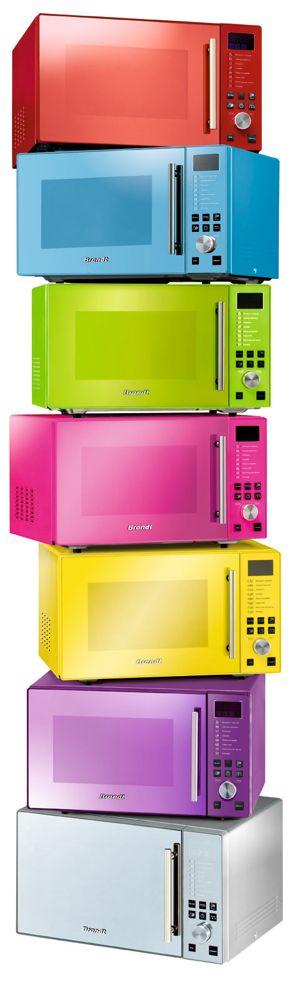 Four micro-ondes Brandt série limitée Pop