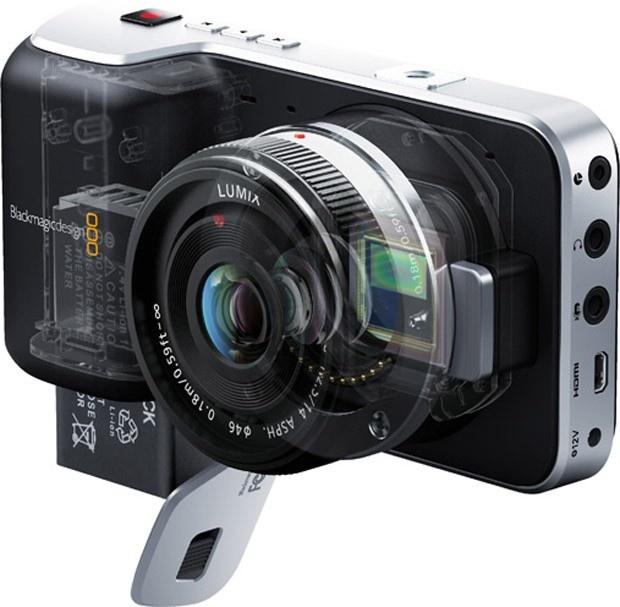 Câmera de bolso faz filmes com qualidade cinematográfica