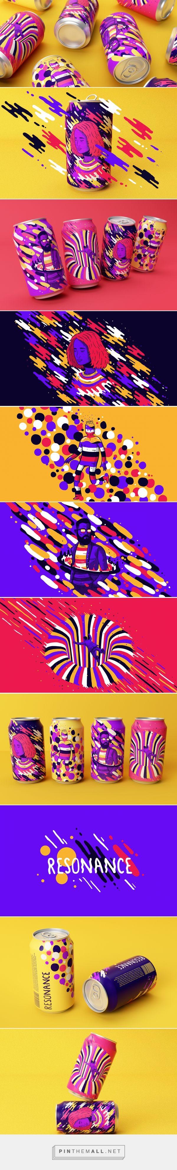 Lovely Illustrations on Resonance packaging design concept by Lucas Wakamatsu (Brazil) - http://www.packagingoftheworld.com/2016/07/resonance-concept.html