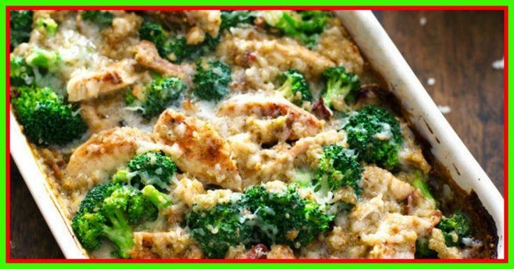 weight watchers best recipes | Chicken, Broccoli, Quinoa Casserole 7 Points + - WEIGHT LOSS