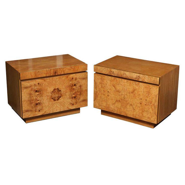 Milo Baughman Night Tables for Lane - 128 Best MCM Designer Lines Of Furniture Images On Pinterest
