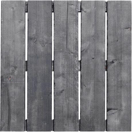 Trall 50 x 50 cm gråoljad
