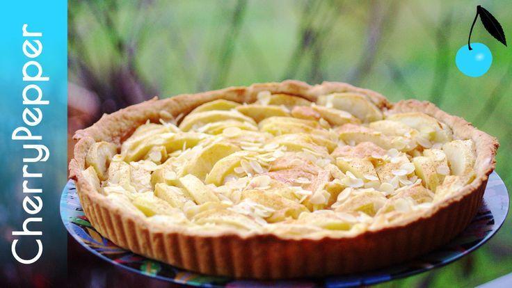 Tarte aux pommes végane - Pâte à tarte sans beurre ni huile de palme