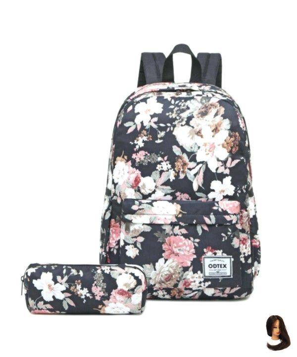 Rucksack für Damenschultaschen Wasserdichter Rucksack Leichte Büchertasche für 15-Zoll-Laptops – CK18HXW594E
