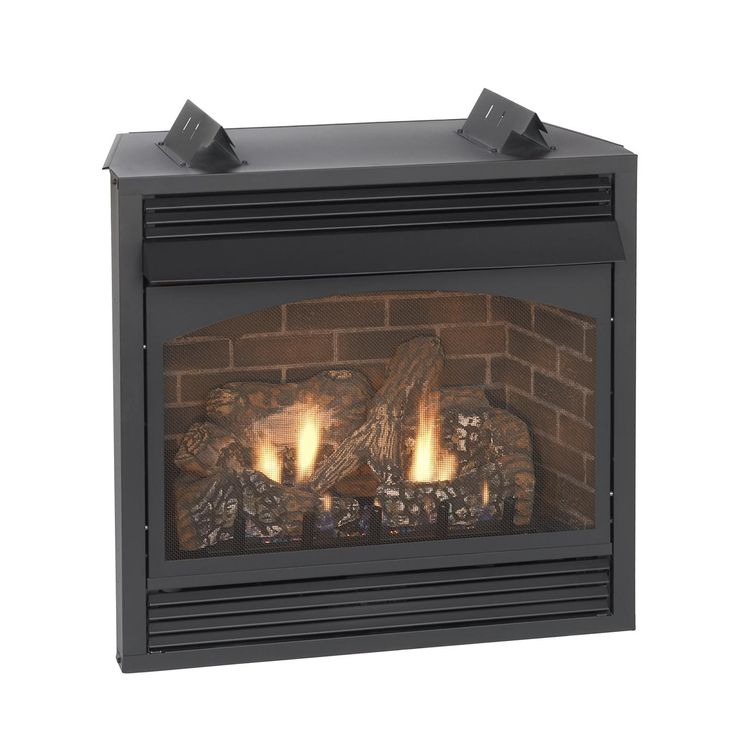 Vail Premium Vent-Free Propane Fireplace with Remote Ready Controls - 32