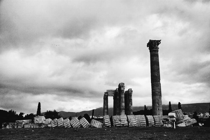 Ruinas del templo a Zeus, Atenas