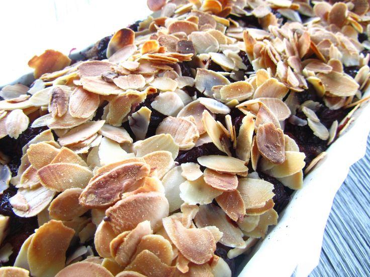Sour Cherry & Almond tart