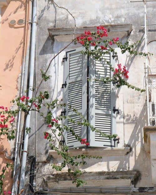 Corfu fairy window