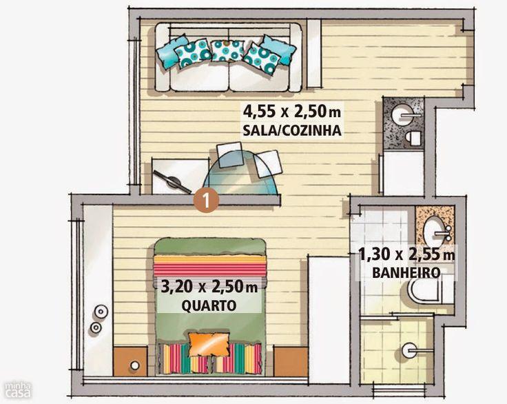 Amenajare practică într-un apartament de numai 25 m² | Jurnal de design interior