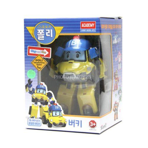#Bucky #Robocar #Poli #New #Transformer #Robot #Korean TV #Animation #Academy #Car #Toy