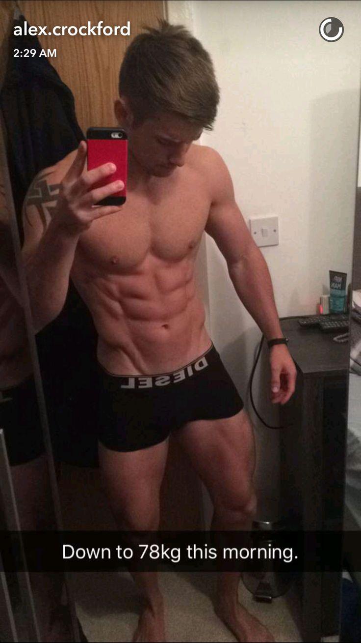 Alex Crockford mirror selfie