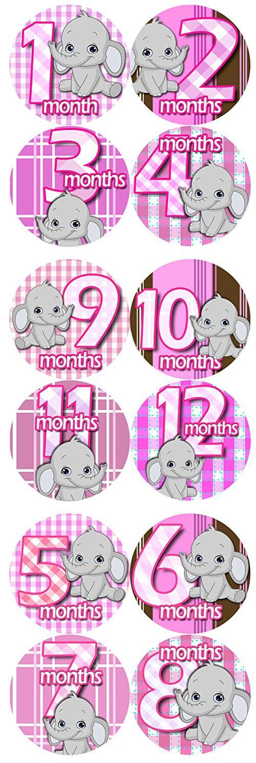 18 Month Stickers: Best 25+ Baby Month Stickers Ideas On Pinterest