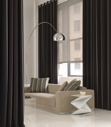 as shown: solar shades | 5% | pearl | The Shade Store  #curtains