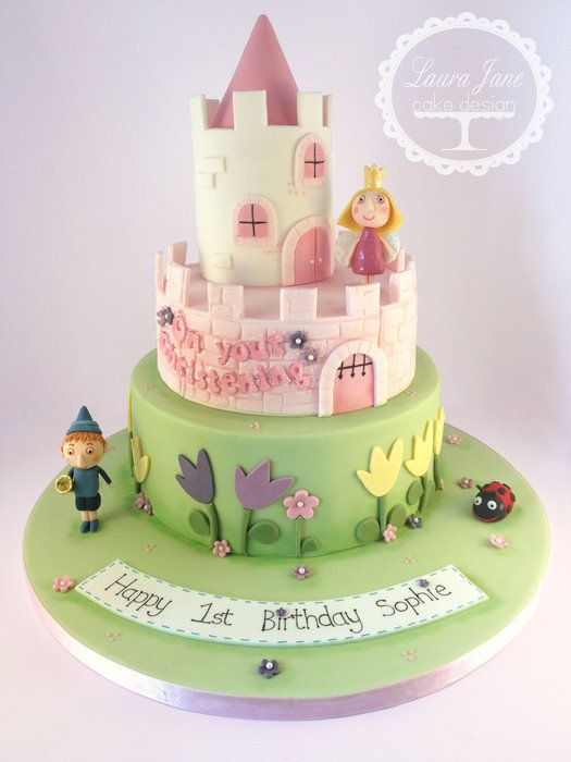 Ben and Holly - by LauraJaneCakeDesign @ CakesDecor.com - cake decorating website