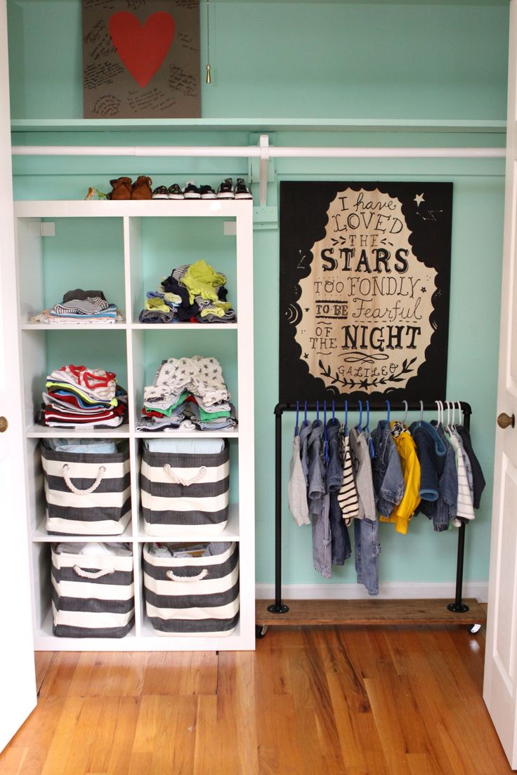 Pin By Laila On Baby Toddler Closet Organization Closet
