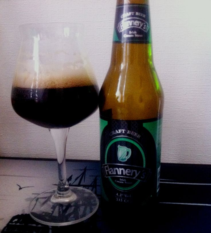 #Flannerys #Stout #craftbeer
