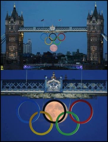 Nature with 6th circle of olympics 2012 #olympic #london #blue #nature #pictures #cute #nice