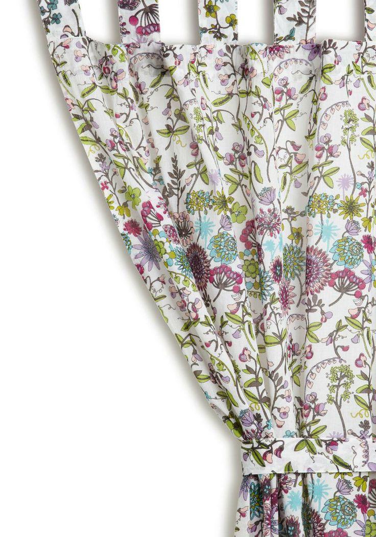 Karma Living, Guest Room, Botanical Curtains, Boudoir Curtains ...